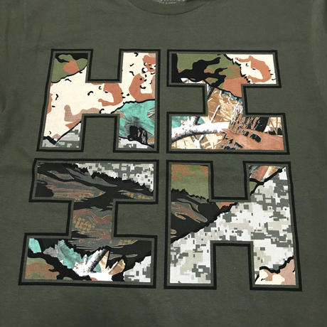 2019 MALAKI LINE【HAWAII'S FINEST】CAMO COLLAGE MILITARY
