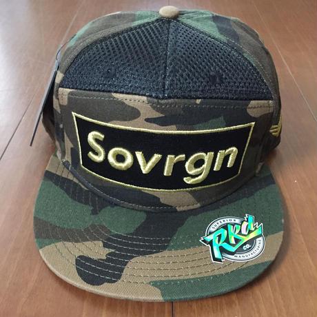 "SOVRGN ""BOX LOGO CAMO"" 7Panels Hat"