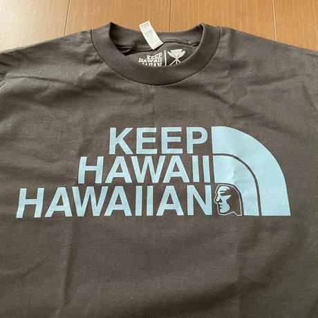 """KEEP HAWAII HAWAIIAN """"KHH MUA LOGO"""" Tee"""