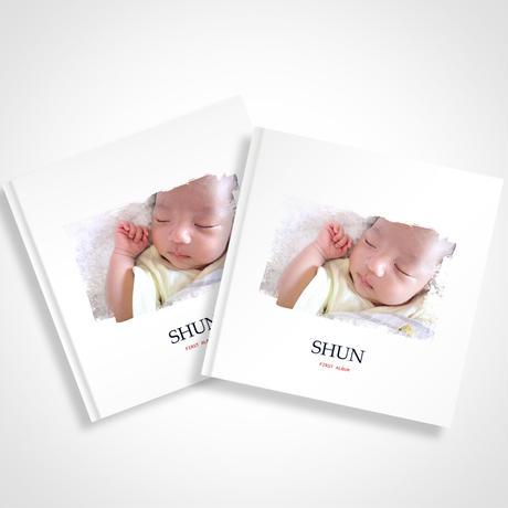 【期間限定】赤ちゃんのファーストアルバム2冊セット