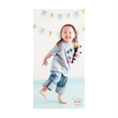 赤ちゃんの等身大ポスター B2ロングB