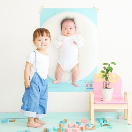 赤ちゃんの等身大ポスターA1サイズ