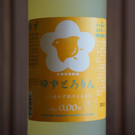 【ノンアルコールリキュール】フリーダ ゆずとろりん 720ml