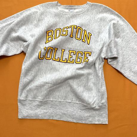 "champion ""R/W sweat"" College print 90s"