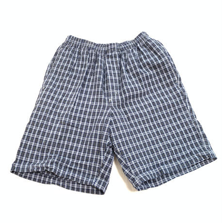 "UTILITY WEAR ""Check Cotton Short Pants"""
