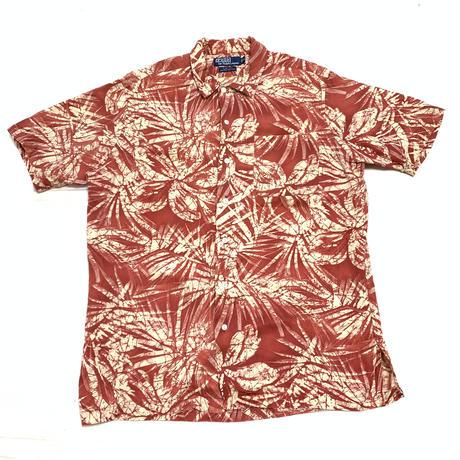 """Ralph Lauren """"Hawaiian shirts"""" silk linen 90s"""