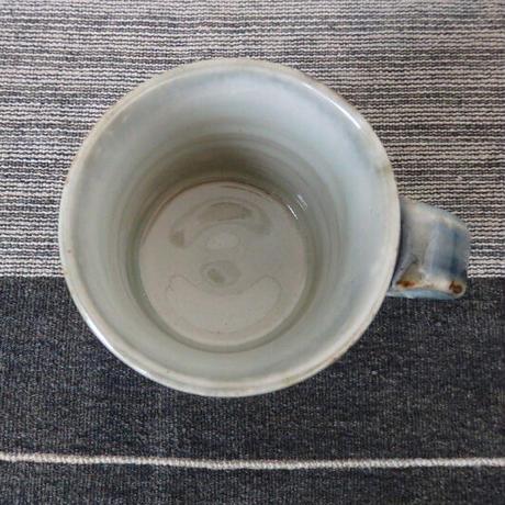 袖師窯 マグカップ ブルー