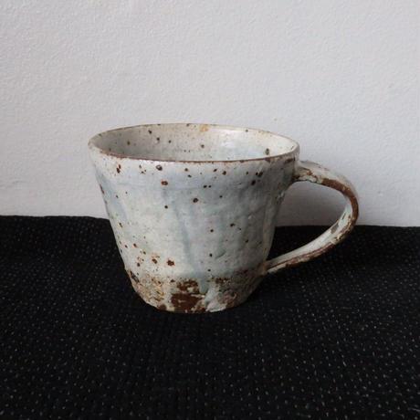隆香窯 マグカップ グリーン