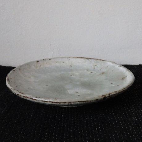 隆香窯 3.5寸皿 グリーン
