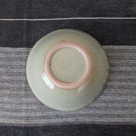 袖師窯 彫文鉢 大