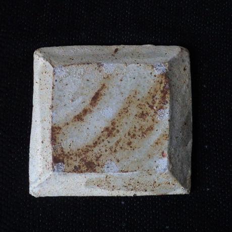 隆香窯 四方鉢 イエロー