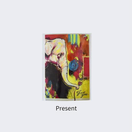 mikimikimikky1016. Post card サファリ