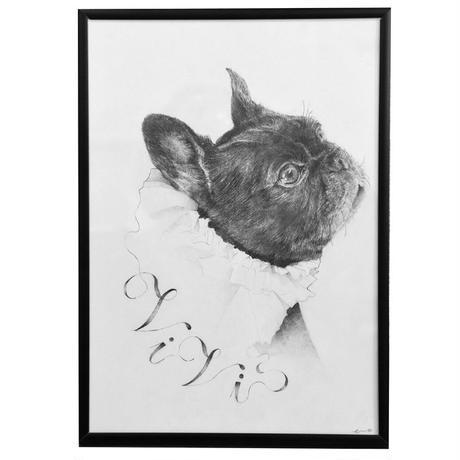 アーティスト eveさんによる肖像画オーダーメイド