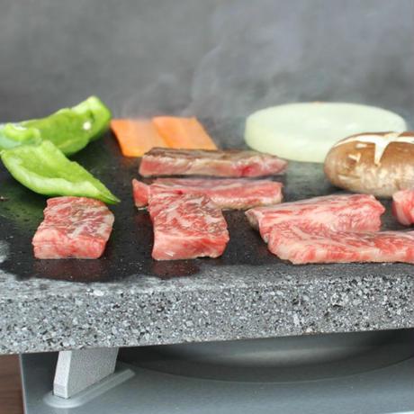 【国産溶岩プレート】美味焼-Umayaki-「彩-R」【自社製造】お家焼肉25×25焼肉 溝付き  焼肉グリル カセットコンロ 家庭焼肉 お祝いプレゼント