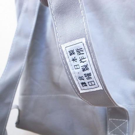 シンプルキャンバスリュック [GRAY]  鎌倉・日本製