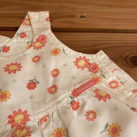 【70cm】OSHKOSH f floral Overalls