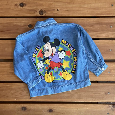 【90cm】Vintage Disney Denim JK