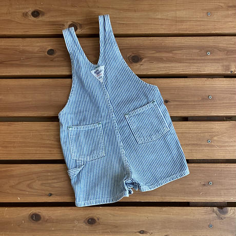【80cm】OSHKOSH Hickory Shortalls(Green stitch)