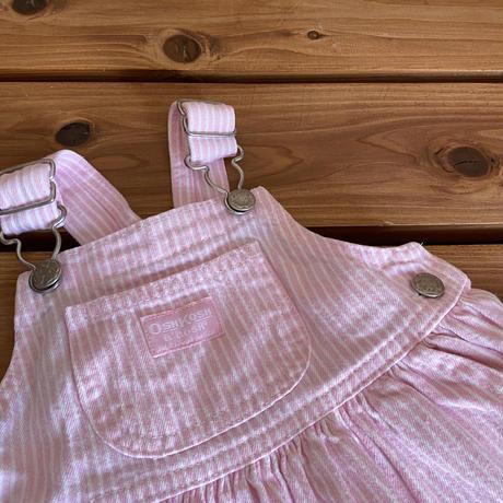 【80cm】OSHKOSH Pinkhickory Onepiece