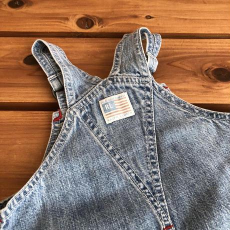【80cm】Ralph Lauren Flag Denim Dress