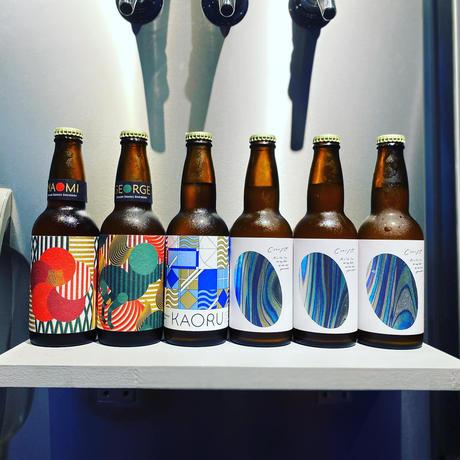 大森山王ビール飲み比べ「KAORU&NAOMI&GEORGE&CHIYO」6本セット