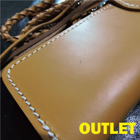 【OUTLET】レザーウォレット SUNNY WORKS SW-W18 TAN