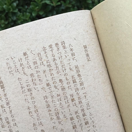 ヒロイヨミ社|十一月 尾形亀之助