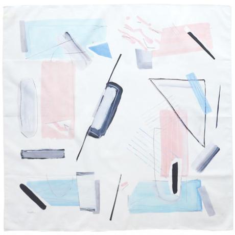 狩野岳朗|MARINE PINK RESORT BLUE(ハンカチ)