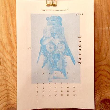 村橋貴博|DOROTHY Calendar 2021