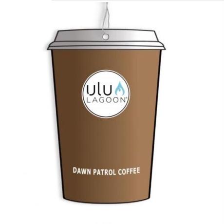 ulu LAGOON コーヒーカップ エアフレッシュナー