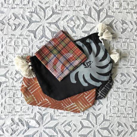 Cotton Silk Drawstring Bag (S)