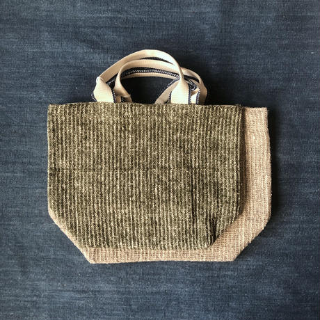 Gara-bou × Canvas Medium Tote (Olive)