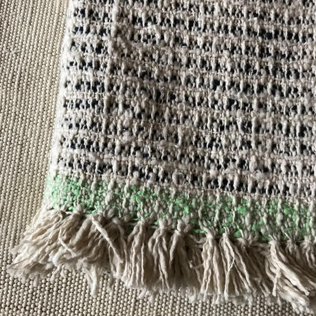 Gara-bou Medium Stole WS Kabe 50×190cm (Ice Pin Border)