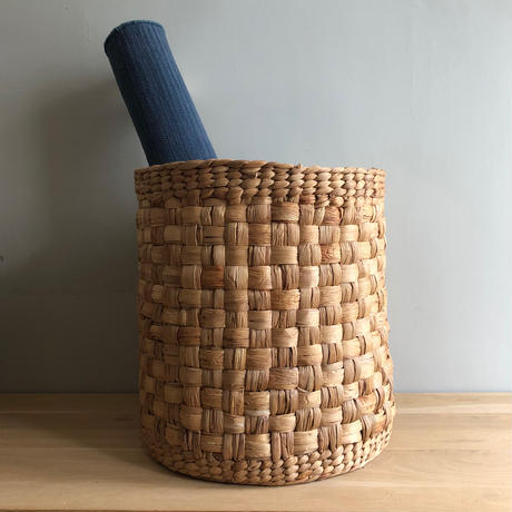 Checkered Straight Basket (L)