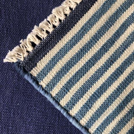 Fine cotton indigo place mat 35×45