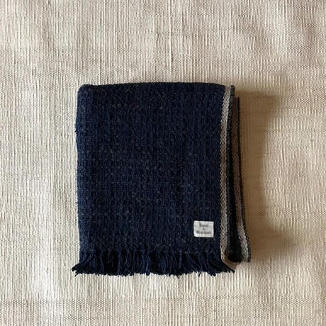 Gara-bou Medium Stole Kabe 50×190cm (Midnight)