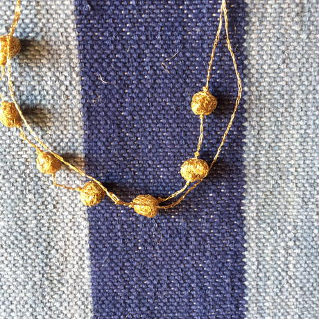 Gold Stone Necklace