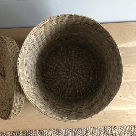 Lidded Basket (L)