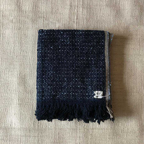 Gara-bou Medium Stole Kabe 50×190cm (Light Indigo)