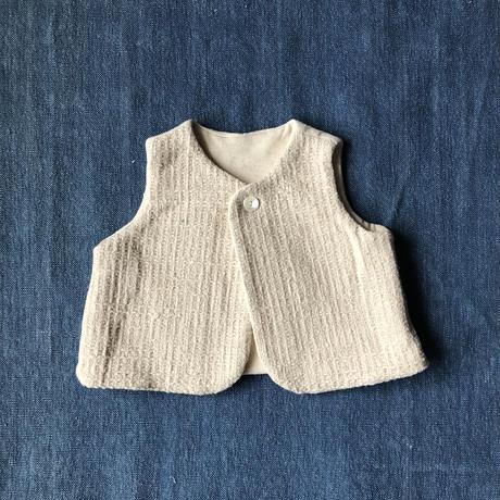 Gara-bou Baby Vest (Ivory)