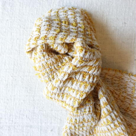 Gara-bou Muffler Stole Kabe 22×190cm (Triangle - Yellow)