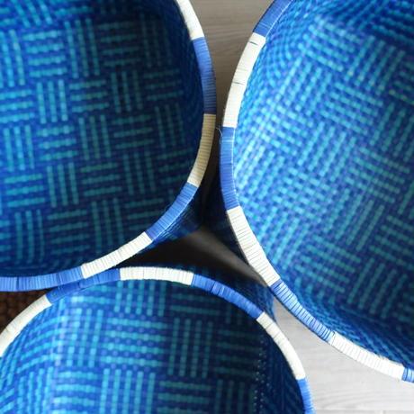 Rettai Olai Basket L ( Blue )