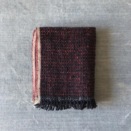 Gara-bou Medium Stole Kabe 50×190cm (Bordeaux)