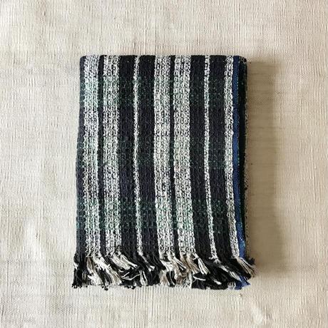 Gara-bou Blanket Stole Kabe 100×190cm (Green Check)
