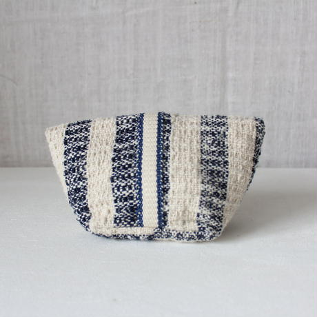 Gara-bou Pouch (Blue Gray Stripe)