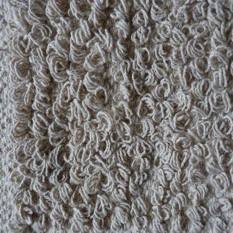 Cotton Looped Rug 60×90 (Natural)