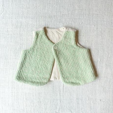 Gara-bou Baby Vest (Light green)