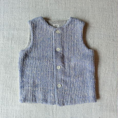 Gara-bou kids Vest (Brush Lavender)