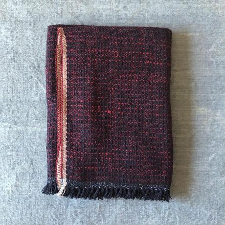 Gara-bou Blanket Stole Kabe 100×190cm (Bordeaux)