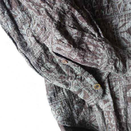 Silk Cotton Printed Shirts (For Men)